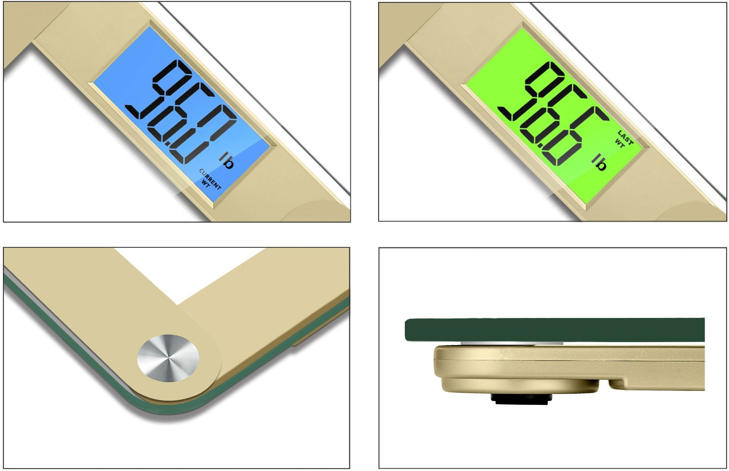 Accurate bathroom scales