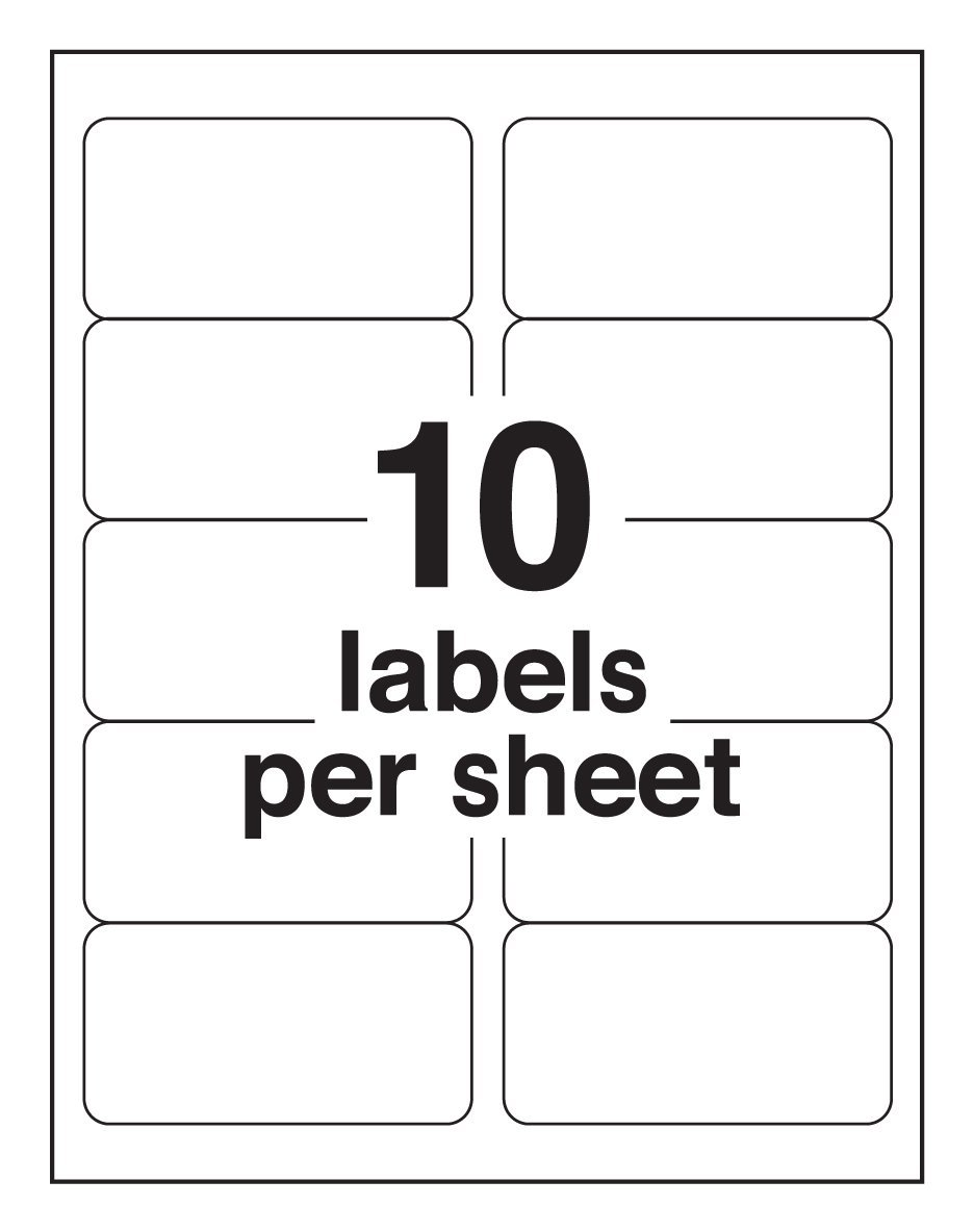 2 x 4 rectangular label templates. 8 x 25 labels. ol125 4 x 2 ...